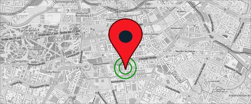 Satellitenortung für Smartphone